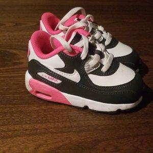 Nike Air Max Toddler size 5C Navy Pink White